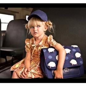 """Jeune Premier - cartable it bag mini """"Nuages"""""""