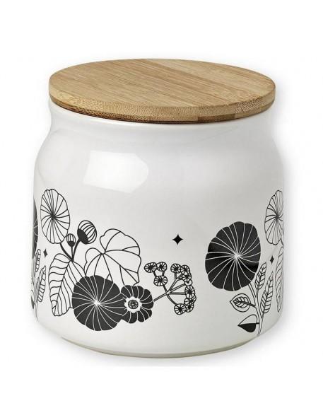 ATOMIC SODA Black Geometric Stoneware Teapot by Mr&Mrs Clynk