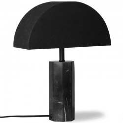 Lampe marbre noir HK LIVING
