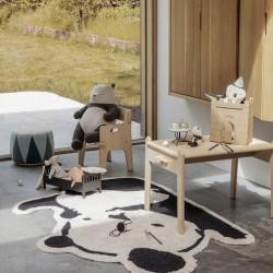 Maileg panda rug, black