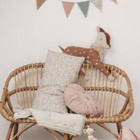 Maileg - round cushion,  linen