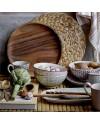 """Bols en céramique, motifs """"Maya"""" (x3) - Bloomingville"""