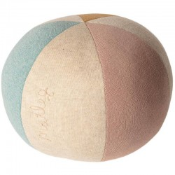 Maileg ball : rose/light blue