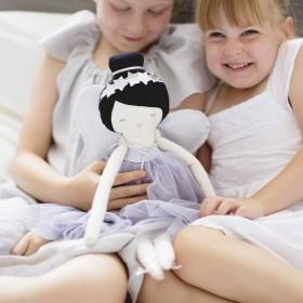 Alimrose Design - Mia Fairy doll, lavender (48cm)