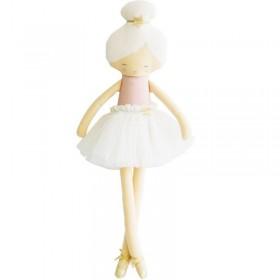 Poupée ballerine Arabella white, 60cm ALIMROSE
