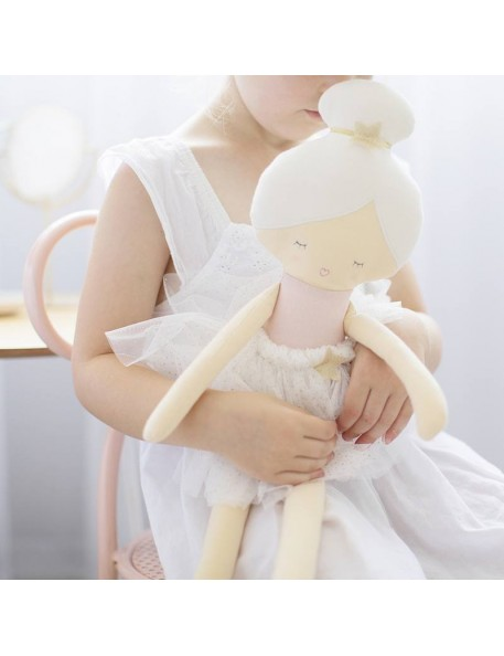 Alimrose Design - Arabella doll, white  (48cm)