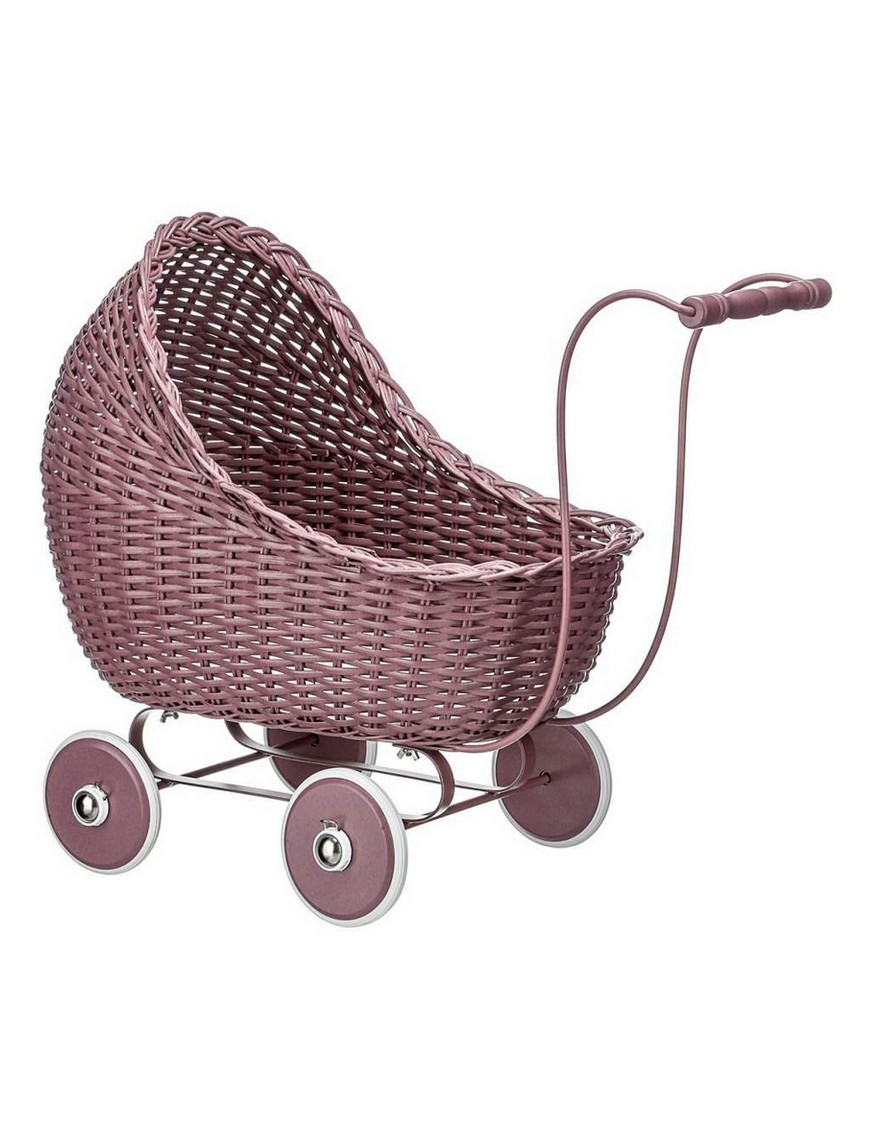 vintage baby doll stroller : dark rose - Smallstuff