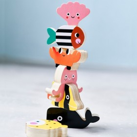 Wooden ocean stacker - Petit Monkey