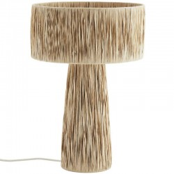 Raphia table lamp, Madam Stoltz
