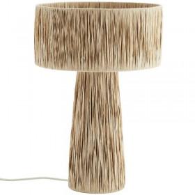 Lampe de table raphia Madam Stoltz