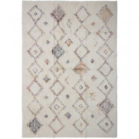 Tapis losanges multicolores (180x120cm) Bloomingville