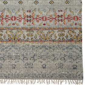 Bloomingville - multi-color cotton rug (180x120cm)