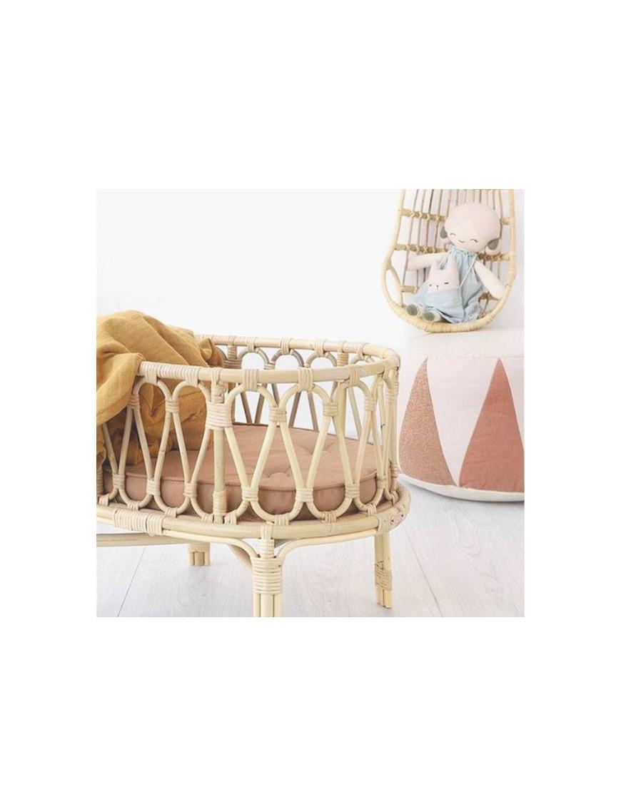 Poppie Toys crib with clay mattress