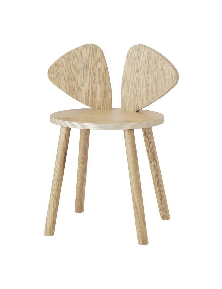 Nofred mouse chair school oak (6-10y)