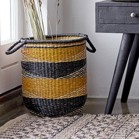 Bloomingville - jute rug, multi (140x70cm)