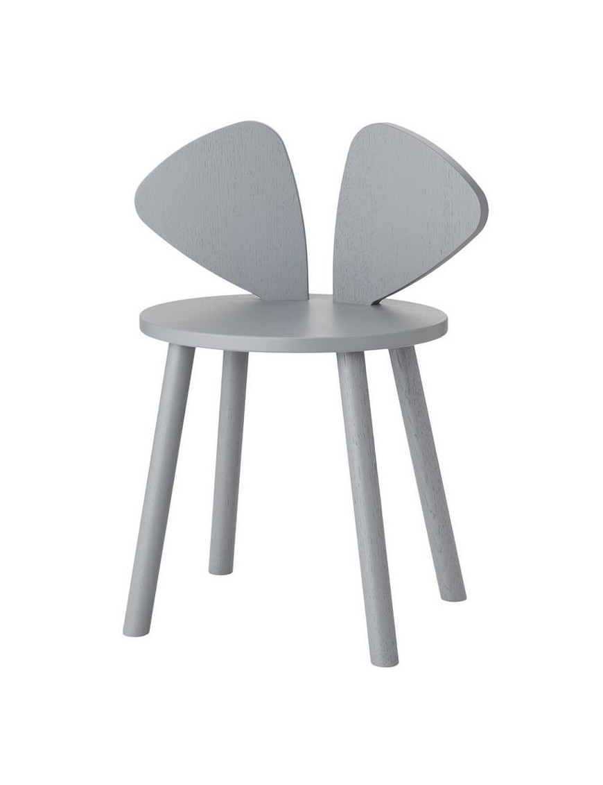 Nofred mouse table school, grey (6-10y)