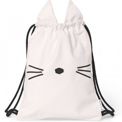 Liewood - sac de gym rose, chat