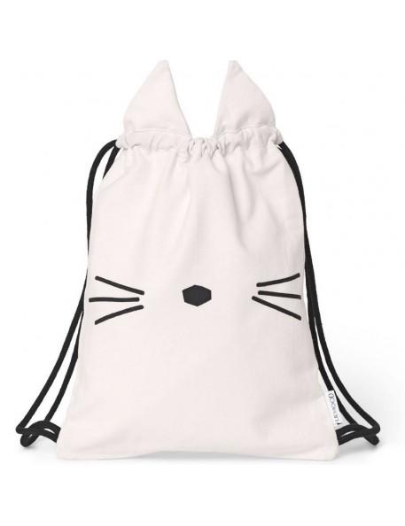 Liewood - sac de gym rose, chat