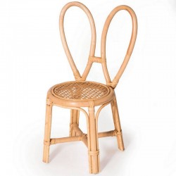 Bunny's chair, rattan Poppie Toys