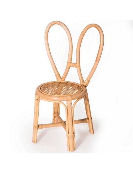 Bunny's chair, rattan Poppie Toys