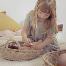 """Olli Ella doll """"Nyla"""" basket"""