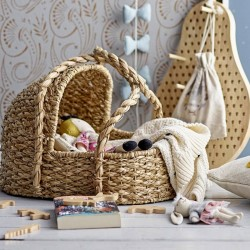 Bloomingville doll bed nature 3+