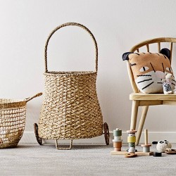 Bloomingville garden trolley, nature rattan