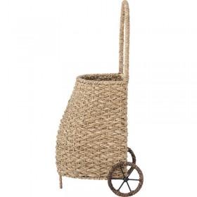Bloomingville garden trolley, nature rattan
