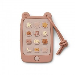 "Jouet de dentition Liewood mobile phone ""Thomas"" rose"