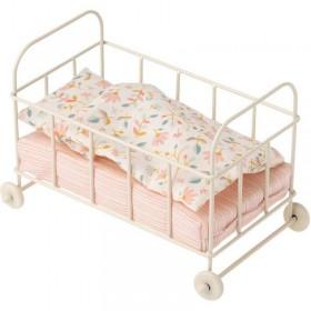 """lit de poupée Maileg """"micro, baby cot"""""""