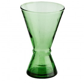 Verre à vin Beldi vert Madam Stoltz