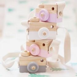 Jouet en bois : appareil photo Bloomingville mini