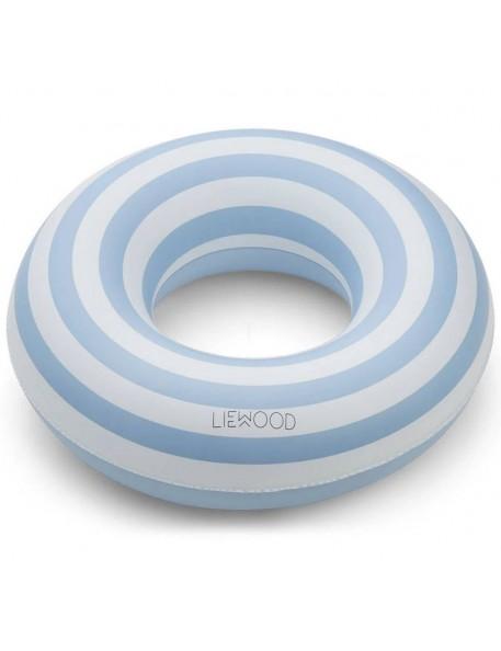 "Bouée bébé Liewood ""Baloo"" blue stripe"