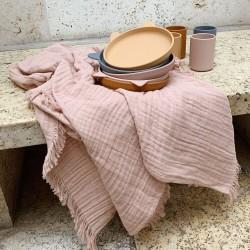 muslin baby girl blanket