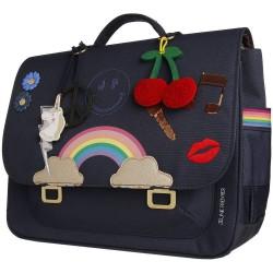 Jeune Premier cartable it bag midi lady gadget blue