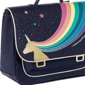 "Jeune Premier - cartable it bag midi ""Unicorn gold"""