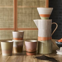 "HK Living mug ""Saturn"" céramique 70'"