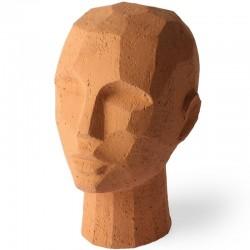 Sculpture tête terracotta HK Living