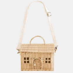 Olli Ella casa bag, straw
