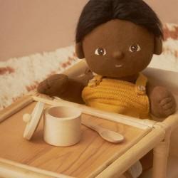 Set repas en bois pour poupée Olli Ella