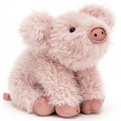 Jellycat Curvie pig plush toy