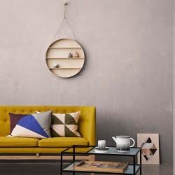 """Etagère ronde en bois """"the round dorm"""" Ferm living"""