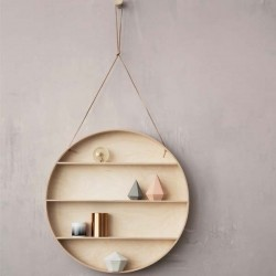 ferm living shelf the round dorm