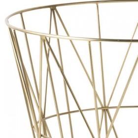 ferm living wire basket brass - small