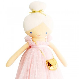 Poupée Charlotte rose pâle Alimrose design 48cm