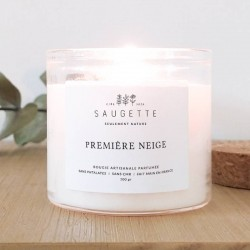First snow - candle scented...