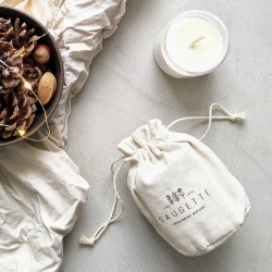 Bougie parfumée forêt de sapin - Saugette