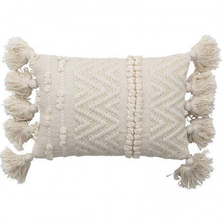 Bloomingville Inas cushion, cotton nature L35xW20 cm