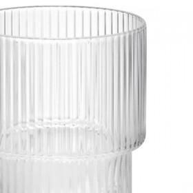 Ferm living ripple glass (x4)
