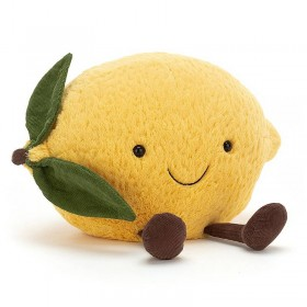 "Jellycat peluche citron ""amuseable"", small"